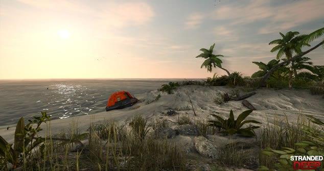 Stranded Deep - Mas pode chamar de simulador de Náufrago